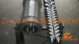 Het verwerkende Vat van de Schroef van de Pijp van pvc Bimetaal Tweeling Kegel