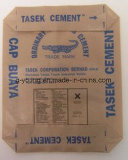Braunes Packpapierbrown-Beutel für Pferden-Zufuhr-Verpackung, Beutel der Fertigkeit-20kg für Zufuhr