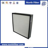mini filtro dalla piega di 0.3um HEPA senza separatori