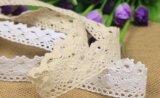 2.5Cm One-Side dentelle de coton pour accessoires du vêtement