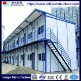 Casa de marco de acero ligera prefabricada de la alta calidad