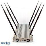 Het Beste Geblokkeerde Signaal WiFi van uitstekende kwaliteit, GSM CDMA van WiFi van de Telefoon van de Cel van de Hoge Macht de Draadloze Stoorzender van het Signaal van de Bom Blocker/