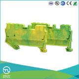 Utl el cable de mordaza de sujeción del bloque de terminales del conector de montaje de la primavera