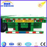 De Fabrikanten van de Aanhangwagen van de vrachtwagen verkopen Flatbed Semi Aanhangwagen van de Container
