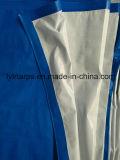Folha azul/branca de encerado do PE, tampa de Tarpolin
