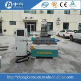 압축 공기를 넣은 4개의 헤드 자동 공구 변화 목제 CNC 대패 기계