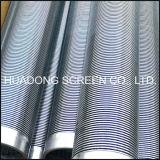 Pantalla de alambre de la cuña del acoplamiento de alambre de acero inoxidable para el receptor de papel de agua