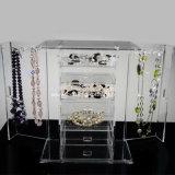 Boîtiers d'affichage à bijoux en acrylique personnalisés (BTR-A2079)