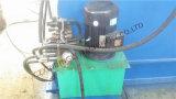 Decoiler idraulico con il rullo dell'automobile che forma macchina