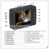 경찰 DVR 기록병, 소형 DVR 의 2.5 인치 LCD TFT 스크린, 움직임 탐지를 가진 소형 Portable DVR 기록병