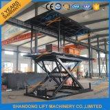 3t 3m hidráulico de tijera eléctrica de coches Plataforma elevadora para estacionamiento