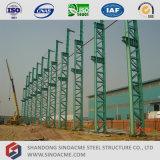 Oficina pré-fabricada da construção de aço da coluna de seção de Latice