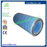 Cartucho de filtro de aire del cilindro de la CCAF