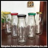 200/[300مل] زجاجيّة تخزين زجاجة مع يلوّن غطاء