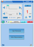 E 빛 IPL RF ND YAG 다기능 기계