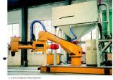 Misturador contínuo de areia de resina de alta velocidade / máquina de mistura de areia de fundição