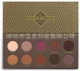 Zoeva color 10 / PCS del maquillaje de la gama de colores Pearly Luster mixtos Metales Mezcla de cacao Rose cosmética sombra de ojos