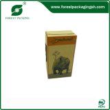 Caixa de cartão nova extravagante do chá do projeto 2015
