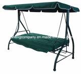 3 Seaterの2機能のデラックスな庭の振動椅子(bed&chair)