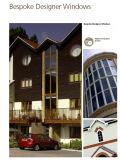 家の、円または円形またはカスタマイズされた形の木製の専門のガラス窓のための現代デザインWindows