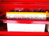 3つの車軸によって露出されるタイヤ特別なLowbedまたは低いデッキの販売のクレーンまたは手段のための低いローダーの貨物半トラックのトレーラー