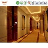Декоративная самомоднейшая деревянная доска стены для проектов мебели гостиницы