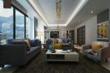 Sofá de tecido de estilo europeu, sofá moderno, sofá de design simples (M609)