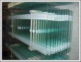 Vlak/Gebogen Gehard glas voor de Bouw/Deur/Treden