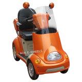 2015新製品のデラックスなシートの後部ボックスが付いている熱い販売4の車輪の移動性のスクーター