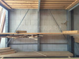 في الهواء الطلق الكابولي الاجهاد مع سقف خارج الإستخدام
