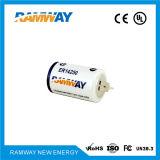 Bateria da capacidade elevada 1200mAh de Er14250 3.6V para mercadorias sanitários espertos