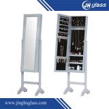 Зеркало самомоднейшего прямоугольника деревянное одевая с рамкой