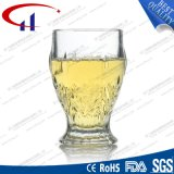 tazza di birra di vetro senza piombo bianca eccellente 180ml (CHM8018)