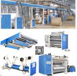 Cadena de producción acanalada de alta velocidad automática del papel del cartón de 3/5/7 capa