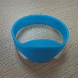 Wristband do silicone RFID da microplaqueta 13.56MHz I-Code2 do Hf para o controle de acesso