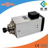 Asse di rotazione quadrato di raffreddamento ad aria dell'asse di rotazione 12kw Er40 18000rpm del router di CNC