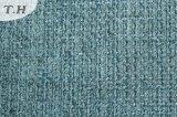 파란 단단한 셔닐 실 직물 도매 (fth31927)