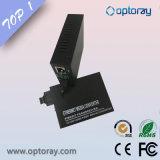 Convertidor de medios de fibra 10 / 100m con función LFP