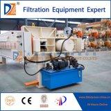 Máquina semiautomática da imprensa de filtro da câmara da DZ para o tratamento da pasta/lama/lama