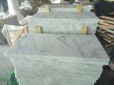 mattonelle Polished della parete del migliore marmo bianco di prezzi di 80X40cm
