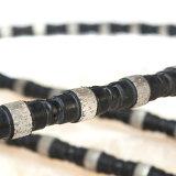 강화한 무쇠 다이아몬드 케이블은 10.5mm 직경에 의하여 소결된 구슬로 보았다