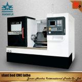 5.5kw 스핀들 모터 힘을%s 가진 기우는 침대 CNC 선반