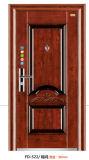 高品質の鋼鉄ドアの単一の機密保護のドア(Fd522)