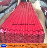 建築材料の多彩な鋼板は/屋根ふきシートを波形を付けた