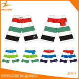 Shorts coloridos completamente Sublimated da praia da placa de Healong