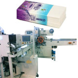 Serviette de papier tissu tissu de la machine d'emballage avec Pocket ramasseuse-presse enrubanneuse