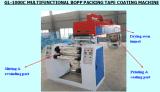 La velocidad rápida de Gl-1000c imprimió la máquina de capa de la cinta del lacre