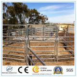Сваренная загородка скотин лошади, сваренная панель загородки
