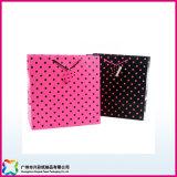 Embalaje Bolsa de papel impreso para ir de compras// Regalo ropa (XC-5-011)
