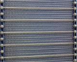 Edelstahl-Metalldraht-Ineinander greifen-Förderband